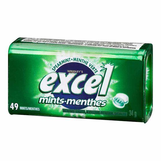 Excel Mints - Spearmint - 34g