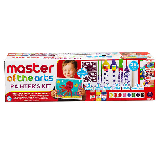 Master of The Arts Painter's Kit