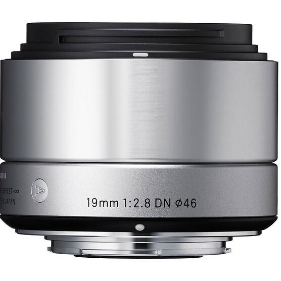 Sigma Art 19mm F2.8 DN Silver Lens for Sony NEX - A19DNBKSE