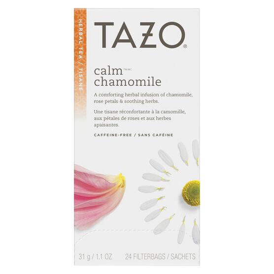 Tazo Calm Herbal Infusion - 24's