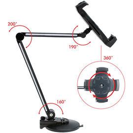 CTA Ultra-Light Tablet Mount - Black - CTA-PAD-UAM