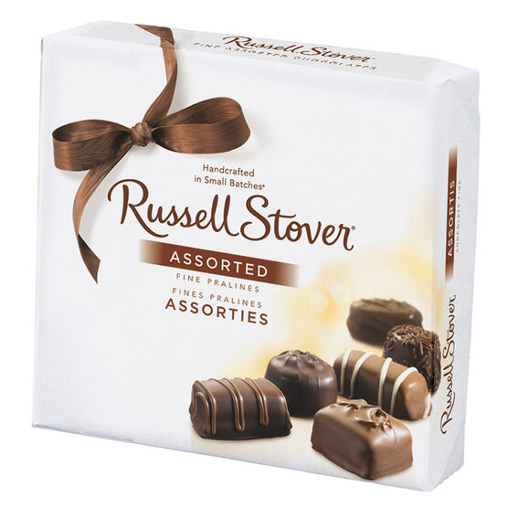 Russell Stover Assorted Chocolate Box - 156g