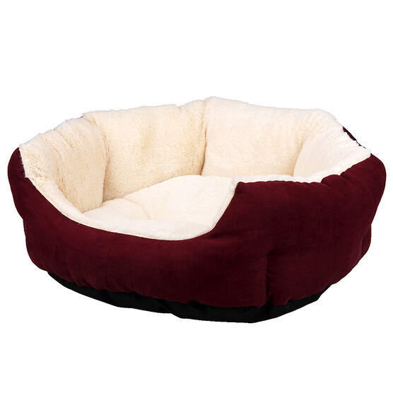 London Drugs Deluxe Fleece Pet Bed - Large
