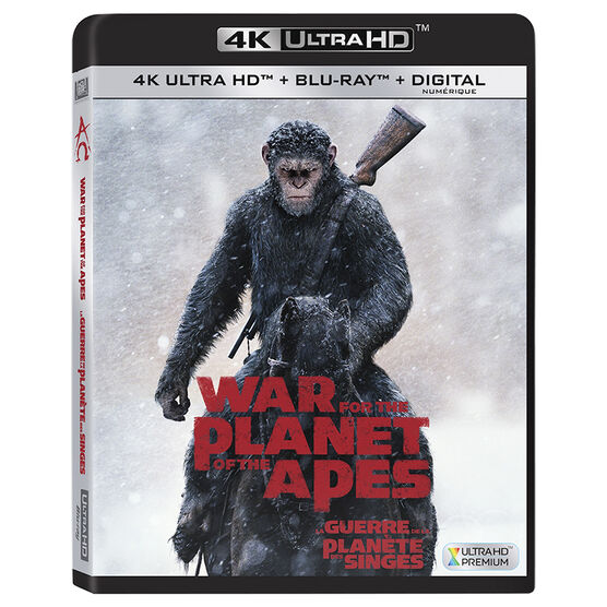 War For The Planet Of The Apes - UHD 4K Blu-ray