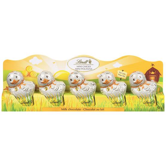 Lindt Mini Milk Chocolate Chicks - 5 pack/50g