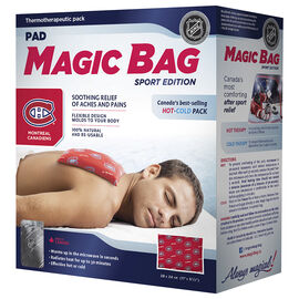 Magic Bag Sport Edition Hot/Cold Pad - Canadiens - 11502