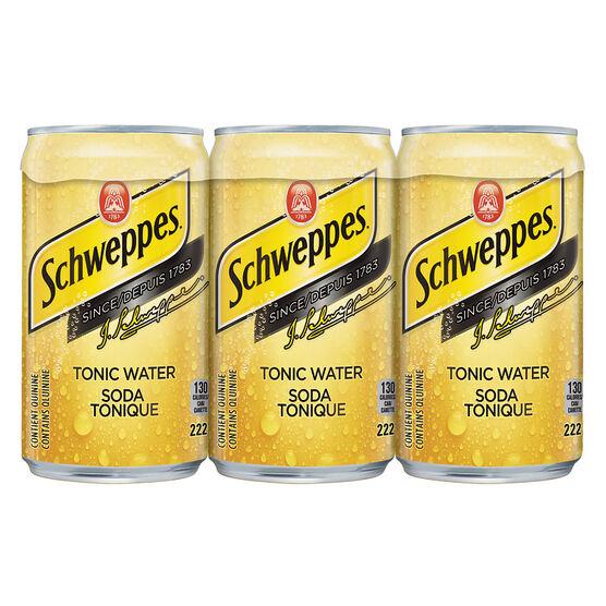 Schweppes Tonic Water - 6x222ml