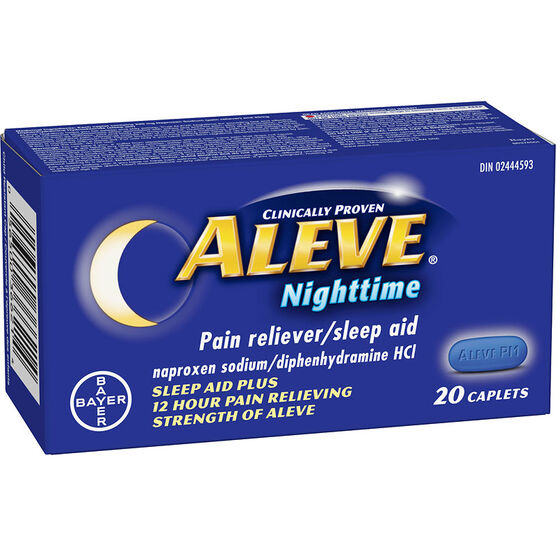 Aleve Nighttime Pain Reliever/Sleep Aid - 20's