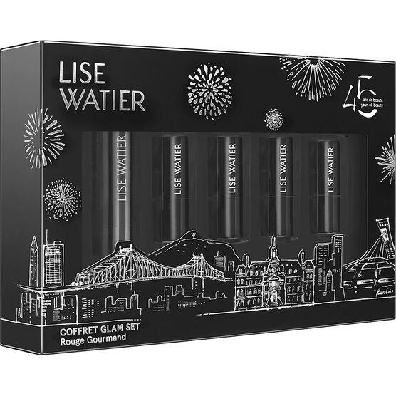 Lise Watier Mini Glam Rouge Gourmand Kit