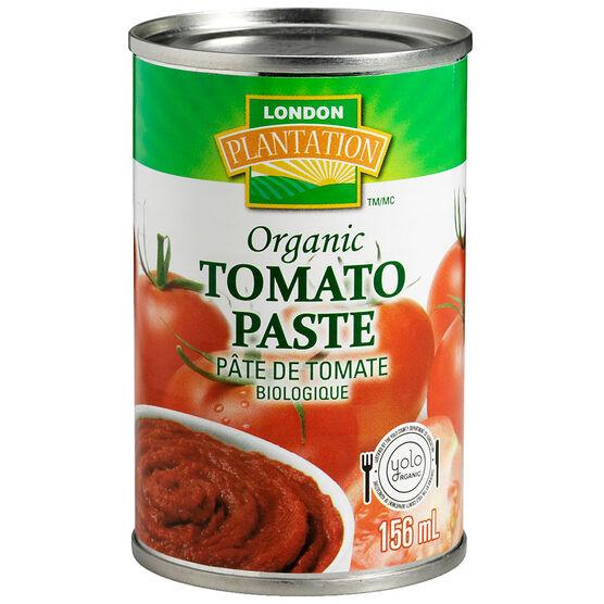 London Plantation Organic Tomato Paste - 156ml