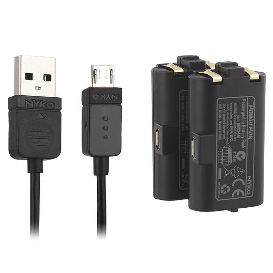 Nyko Xbox One Power Kit Plus Rechargable Batteries - 86103