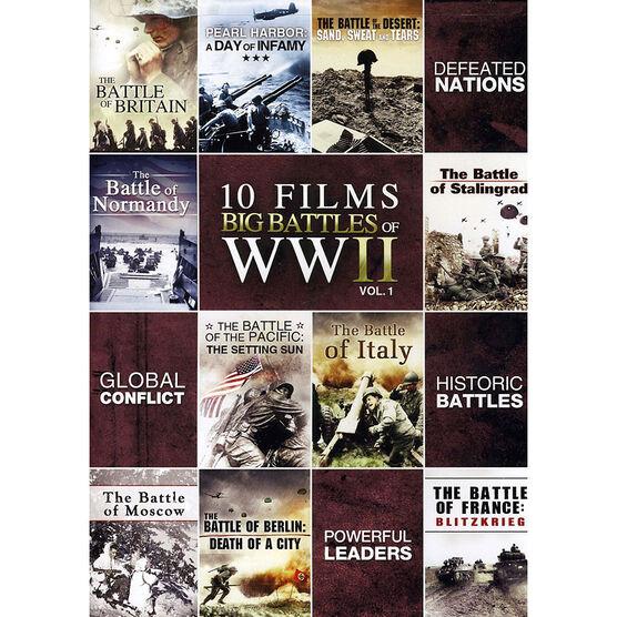 10-Film Big Battle Of WWII: Volume 1 - DVD