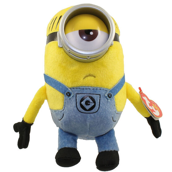 TY Despicable Me Beanie Baby - Minion Mel