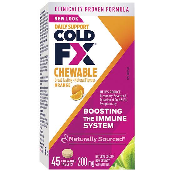 Cold-FX Chewable - Orange - 45's