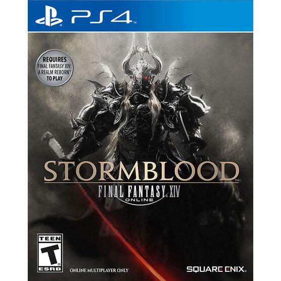 PS4 Final Fantasy Stormblood