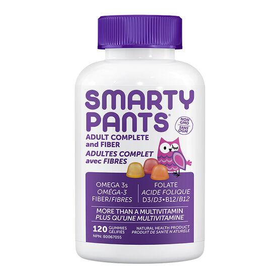 Smartypants Adult Complete + Fiber Multivitamins Gummies - 120's