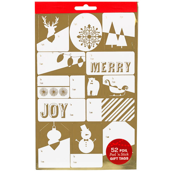 Christmas Gift Tags Books - 52's - Assorted