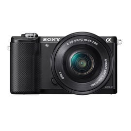 Sony A5000 Body with 16-50mm Lens - Black - ILCE5000LB