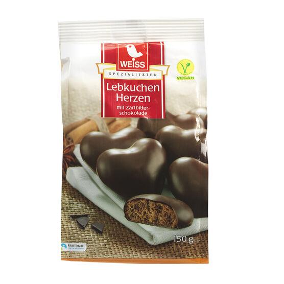 Weiss Gingerbread Hearts - 150g