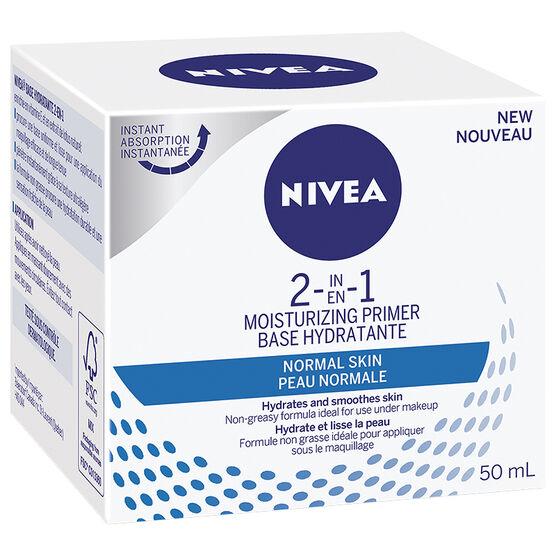 Nivea 2 In 1 Moisturizing Primer - Normal - 50ml