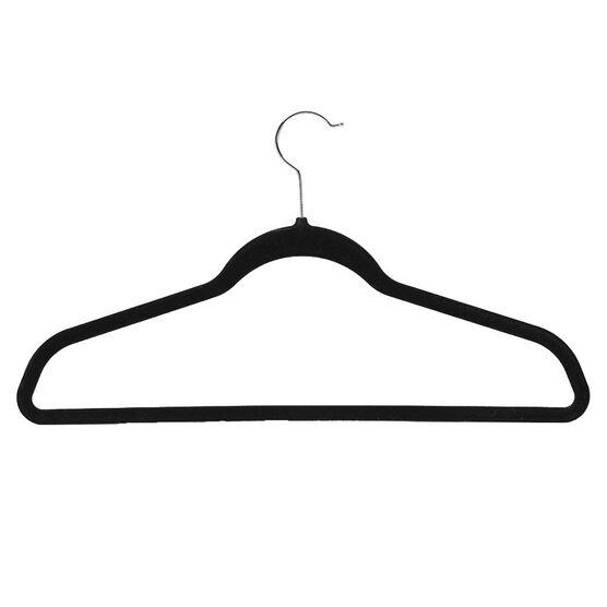 London Drugs Flocked Suit Hangers - 10 pack