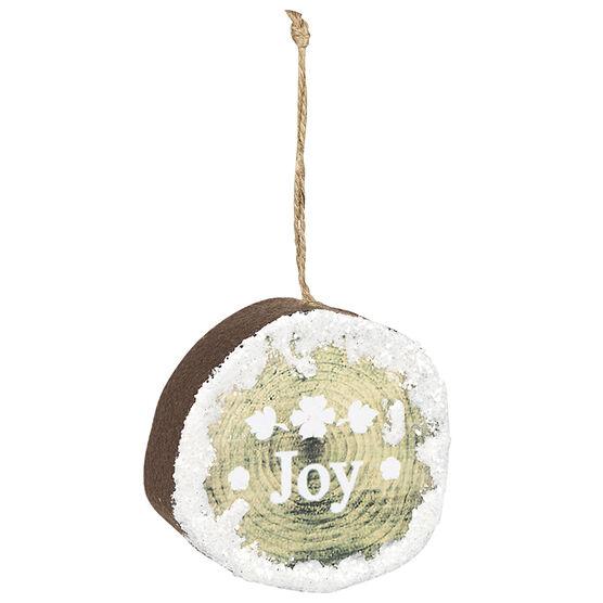 Wild Berries Flat Ball Ornament - Joy Joy - 8.5cm