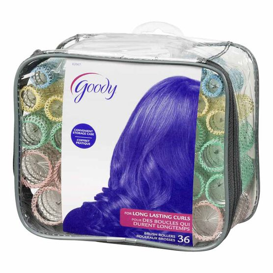 Goody Brush Rollers - 36's