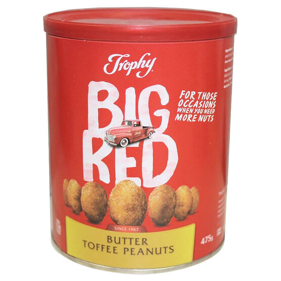 Tropy Big Red Peanuts - Butter Toffee - 475g