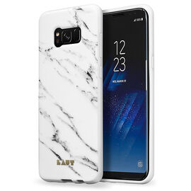 Laut Huex Elements Case for Samsung Galaxy S8 - Marble White - LAUTS8HXEMW