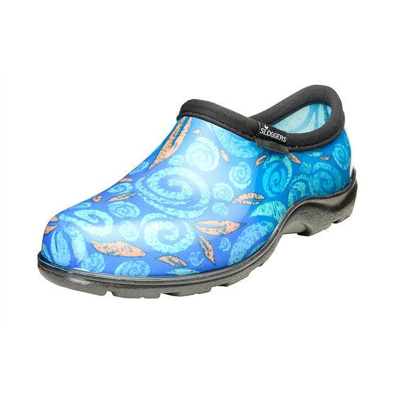 Sloggers Women's Waterproof Comfort Shoe - Swirl Blue