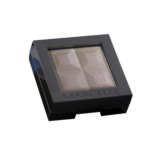 Marcelle Eyeshadow Quad - Taupe