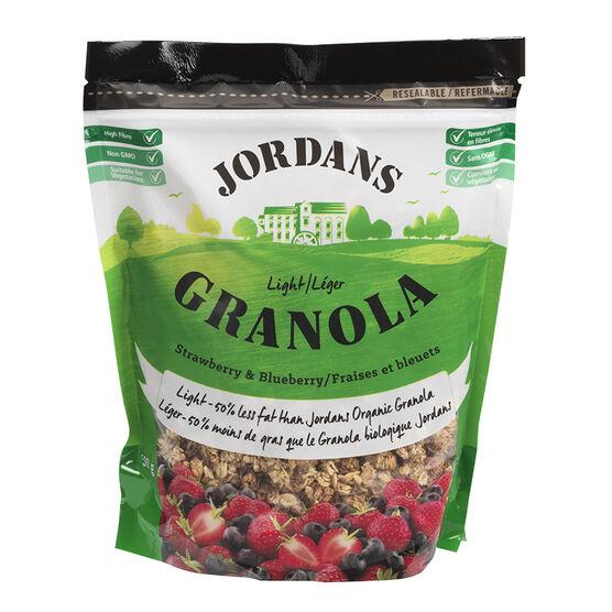 Jordans Light Granola - Strawberry & Blueberry - 500g