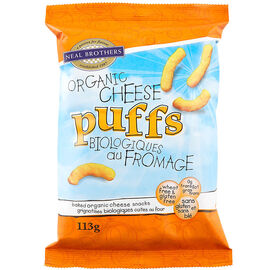 Neal Brothers Organic Cheese Puffs - 113g