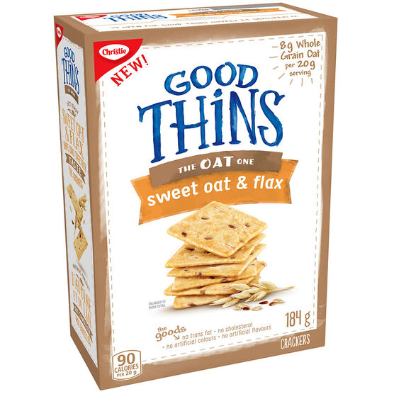 Christie Good Thins The Oat One - Sweet Oat & Flax - 184g
