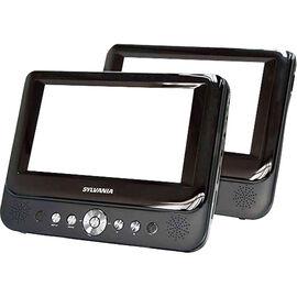"Sylvania 9"" Dual Screen DVD Player - SDVD9957"