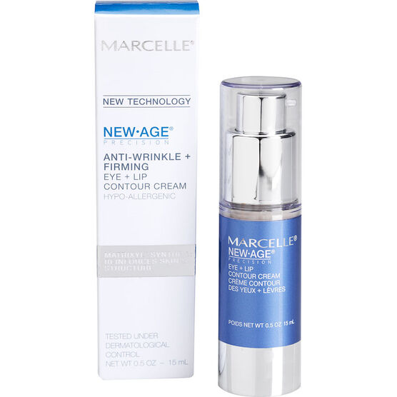 Marcelle New Age Precision Anti-Wrinkle + Firming Eye + Lip Contour Cream - 15ml