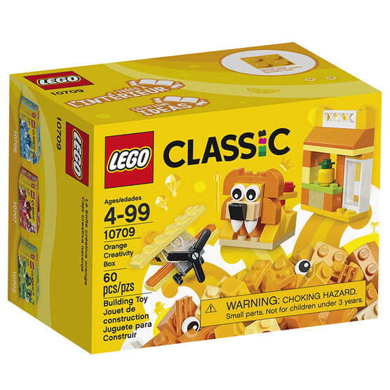 Lego Classic - Orange Creativity Box