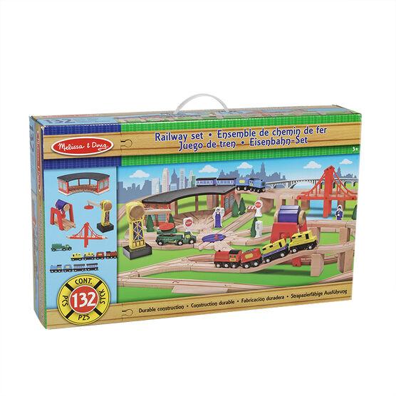 Melissa & Doug - Railway Set