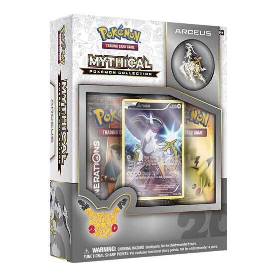 Pokémon Mythical Collection - Arceus Box