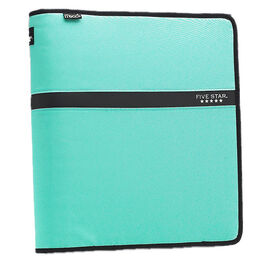 Mead Five Star Zipper Binder - 1.5 inch - Assorted Colours