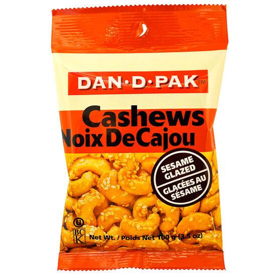 Dan-D-Pak Sesame Glazed Cashew Pieces - 100g