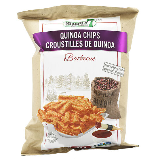 Simply 7 Quinoa Chips - BBQ - 100g