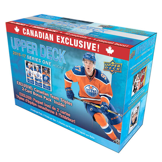 Upper Deck 2016-17 Series 1 Hockey Cards