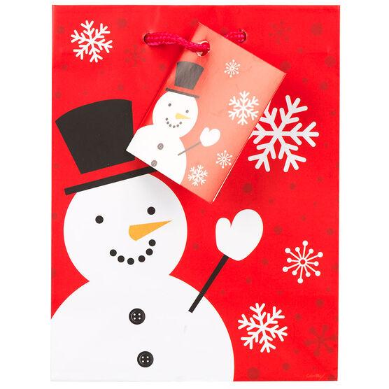 Christmas Gift Bag - Small - Red/White