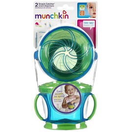Munchkin Snack Catchers - 2 pack - Assorted Colours
