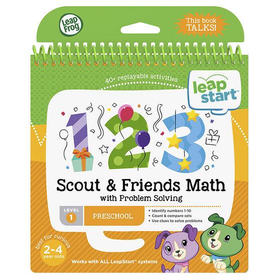 LeapStart Book - Scout Math - Level 1