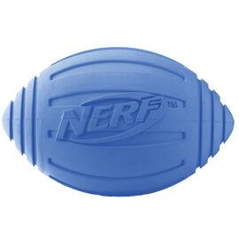 Nerf Dog Ridged Football - Blue