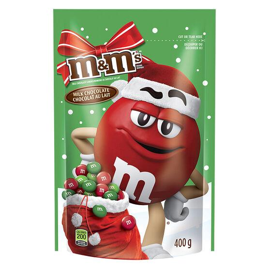 M&M's Milk Chocolate - Holiday Mix - 400g