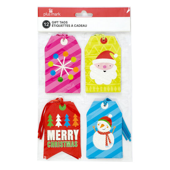Plus Mark MB Gift Tags - 8's