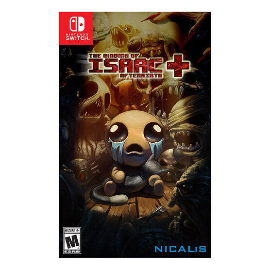 Nintendo Switch Binding of Isaac Afterbirth